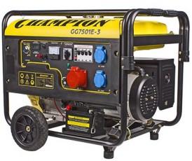 Бензиновый генератор Champion GG 7501E-3