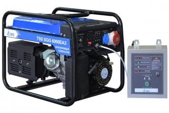 Бензиновый генератор ТСС SGG 6000 E3A С АВР