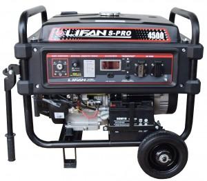 Бензиновый генератор LIFAN S-PRO 4500