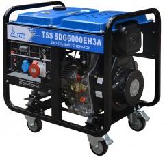 Дизельный генератор ТСС SDG 6000EH3A