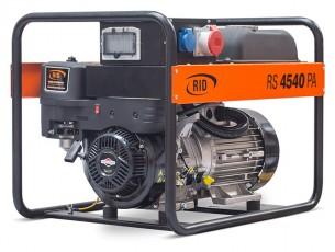Бензиновый генератор RID RS4540PA