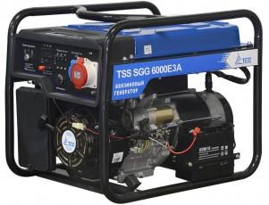 Бензиновый генератор ТСС SGG 6000 E3A