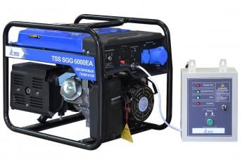 Бензиновый генератор ТСС SGG 6000 EA С АВР