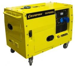 Бензиновый генератор Champion GG 7500 ES в кожухе