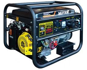 Бензиновый генератор Huter DY6500LXA с автозапуском