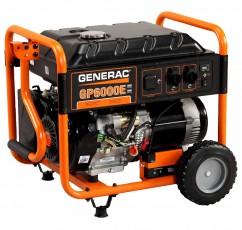 Бензиновый генератор Generac GP 6000 Е