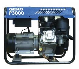 Бензиновый генератор Geko P3000E-A/SHBA